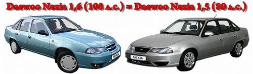 Скидки на автомобили Daewoo Nexia